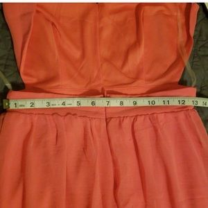 Lulu's Dresses - Pink Lulus backless maxi dress, size medium